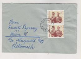 YUGOSLAVIA,1962  Nice Cover Ljubljana To Austria - Covers & Documents
