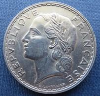 France 5 Fr Lavrillier Nickel 1933 - France