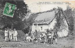 Camp De MAILLY - Vieille Eglise De La Dègue Occupée Par Les Sapeurs Et Les Tirailleurs - Mailly-le-Camp