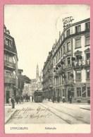 67 - STRASSBURG - STRASBOURG - Küssstrasse - Rue Du Maire Kuss - Tram - Tramway - Strassenbahn - Strasbourg