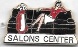 Pin's  ARTHUS  BERTRAND  SALONS  CENTER  Noir - Arthus Bertrand
