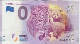 Billet Touristique 0 Euro Souvenir France 14 Cerza 2020-5 N°UEDR000625 - Privéproeven