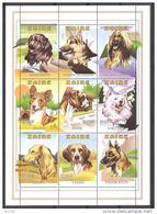 Dogs 1997 COB BL113 MNH - Zaire