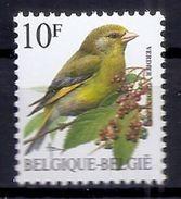 BELGIE * Buzin * Nr 2461 * Postfris Xx * WIT  PAPIER - 1985-.. Oiseaux (Buzin)