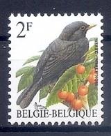 BELGIE * Buzin * Nr 2458 * Postfris Xx * HELDER WIT  PAPIER - 1985-.. Oiseaux (Buzin)