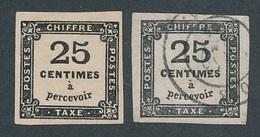 DM-1: Lot Taxe N°5 NSG-5 Obl - Taxes