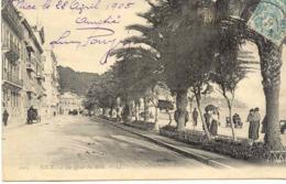 CPA - NICE - LE QUAI DU MIDI - ECRITE EN 1905 - Niza