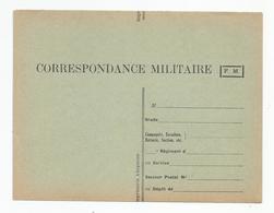 Marcophilie Carte Franchise Militaire Corespondance  Fm Ed Imprimerie Albigeoise - Military Service Stampless