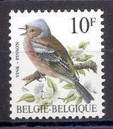 BELGIE * Buzin * Nr 2351 * Postfris Xx * WIT  PAPIER - GROENE GOM - 1985-.. Oiseaux (Buzin)