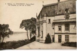 CPA -  CHAUMONT - LE CHATEAU - LA CHAPELLE ET VUE SUR LA LOIRE - Francia