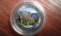 2€ Allemande, SUP Château De Neuschwanstein Colorisé - Allemagne