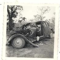 TRACTION CITROEN 15 . DEDOUGOU . ACCIDENT . 1951 - Automobili