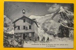 12313 - Construction De L'Hôtel Du Mountet Août 1907 - VS Valais
