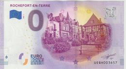 Billet Touristique 0 Euro Souvenir France 56 Rochefort En Terre 2020-1 N°UEQH003657 - Essais Privés / Non-officiels