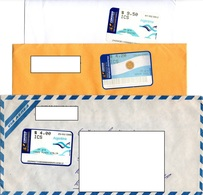 Argentina 2002 2006 2012, Three Envelopes - Storia Postale