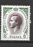 1955 - Monaco - Rainier III - YT 421- MNH* - Neufs