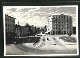 Cartolina Udine, Piazzale Osoppo - Udine