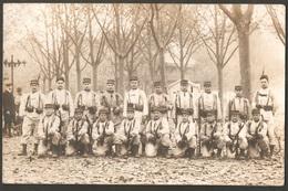 """71 Chalon Sur Saône 56ème Régiment D'infanterie : Les """"bleus"""", Place Mathias 1911 - Chalon Sur Saone"""