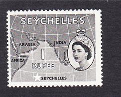 Seychelles 1954 SG184  1 Rupee  MNH - Seychelles (...-1976)