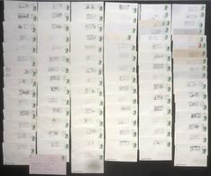 France - Flammes - YT N° 2484 - Scotem - Marianne - Lot De 90 Lettres - 1987 - Oblitérations Mécaniques (flammes)
