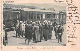 SARAJEVO - ABREISE NACH MEKA - POSTED SARAJEVO 1901 #22609 - Bosnia And Herzegovina