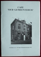Brochure Open Monumentendag 1995 Hillegem, Sint-Lievens-Esse, Woubrechtegem, Borsbeke, Steenhuize-Wijnhuize, Ressegem - Otros