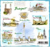 France.bloc No F4538 De 2011.capitales Européennes.budapest.n**. - Blocs & Feuillets