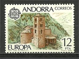 Andorra - 1978 - ( St. Juan De Caselles ) - MNH** - French Andorra