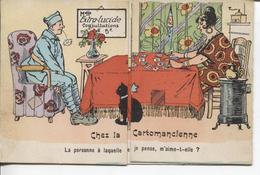 CPA - CHEZ LA CARTOMANCIENNE - LA CARTE S'OUVRE... - A Systèmes