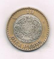 10 PESOS 2004 MEXICO /3327/ - Mexico