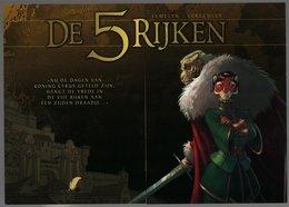 Publiciteit Daedalus 2020: De 5 Rijken - Livres, BD, Revues