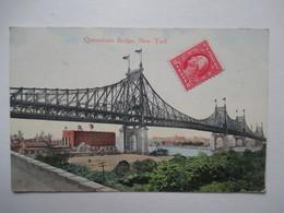 QUEENSBORO   BRIDGE           .....       TTB - Statue Of Liberty