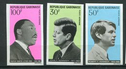 Rep. Gabon ** ND PA N° 80 à 83 - Apôtres De La Non-violence - Gabon