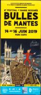 SCHWARTZ : Programme Salon MANTES LA JOLIE 2019 ( Spirou ) - Livres, BD, Revues