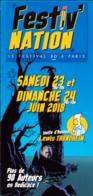 TRONDHEIM : Depliant Festival NATION 2018 - Livres, BD, Revues