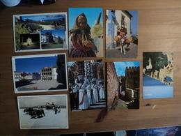 PORTUGAL. LOT DE 13 CPSM ET CPM LOCALITES DIVERSES. 1965 / 2003 OBIDOS / VIANA DO CASTELO / MINHO / TOMAR / MOSTEIRO DA - 5 - 99 Postkaarten