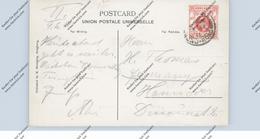 HONGKONG - HONG KONG - 1911, Edward 4cent, Postcard To Hannover - Hong Kong (...-1997)