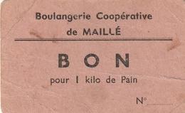 Boulangerie Coopérative De Maillé ( 86 ) - Autres Collections