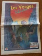Journal LES VOSGES LIBEREES Guerre 1939 1945 31 Pages Epinal Lubine Bruyères La Bresse Pouxeux St Dié Ballon Alsace - Lorraine - Vosges