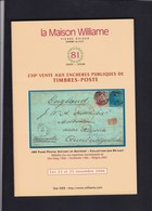 CATALOGUE DE VENTE WILLIAM 230 Eme :  COLLECTION  JAN DE LAET  History Of Antwerp . - Catalogues For Auction Houses