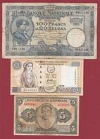 Autres-Europe 3 Billets Dans L 'état Lot N °1 - Banknotes