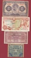 Autres-Europe 4 Billets Dans L 'état Lot N °2 - Banknotes