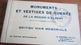 REGION D ALBERT  COMME NEUFS  24 CARTTS POSTALES     LE TOUT 2.00 - Albert