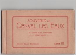 Souvenir De Genval Les Eaux - 10 Cartes Vues Dérie III - Complet - Autres