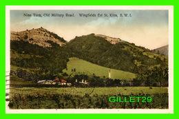 ST KITTS, SAINT-CHRISTOPHE ET NIÉVÈS - NINE TURN, OLD MILITARY ROAD, WINGFIELDS EAST - TRAVEL IN 1932 - PHOTO BY V.E. JO - Saint-Christophe-et-Niévès