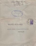 Brief  Luderitz - Walvisbay Paquebot - Walvis Bay           1944 - Zuidwest-Afrika (1923-1990)