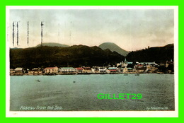 ROSEAU, DOMINIQUE - SEE OF THE CITY OF ROSEAU FROM THE SEA - BY MASTERVILLE - TRAVEL IN 1932 - - Dominique