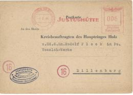 CARTE ALLEMAGNE DEUTSCHES REICH - Lettres & Documents