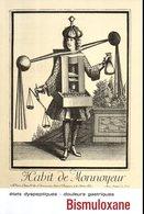Publicité Médicale Bismuloxane : Habit De Monnoyeur (agent De Change) Par Nicolas II De Larmessin - Publicités