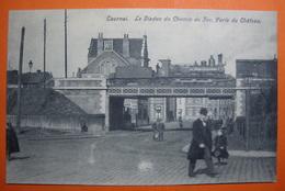 Tournai. Viaduc. Porte Du Château. Train. - Tournai